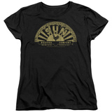 Womens: Sun Records - Tattered Logo Shirts
