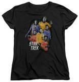 Womens: Star Trek - Galaxy Glow T-shirts