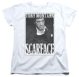 Womens: Scarface - Business Face Shirts
