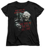 Womens: Lord Of The Rings - Time Of The Orc T-shirts