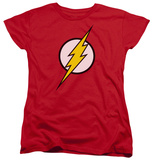Womens: The Flash - Flash Logo Shirt