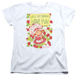 Womens: Strawberry Shortcake - Fun One T-Shirt