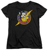 Womens: Mighty Mouse - Mighty Hero T-shirts