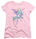 Womens: Superman - Supergirl Pastels Shirt