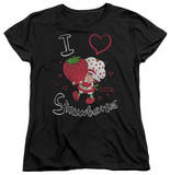 Womens: Strawberry Shortcake - I Heart Shirts