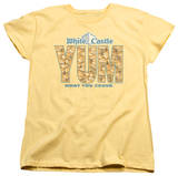 Womens: White Castle - Yum T-shirts