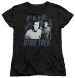 Womens: Star Trek - Kirk Spock And Company Shirts