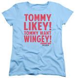 Womens: Tommy Boy - Want Wingey T-Shirt