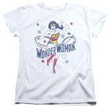 Womens: Wonder Woman - Wonder Stars Shirts
