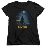 Womens: The Adventures of Tintin - Title Poster T-shirts