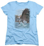 Womens: Wildlife - The North Woods Bald Eagle T-Shirt