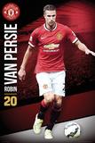Manchester United Van persie 14/15 Kunstdrucke
