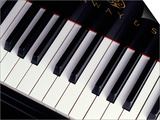 Piano Keyboard Posters by John T. Wong