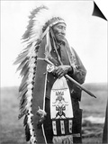 Sioux Chief, C1905 Art by Edward S. Curtis