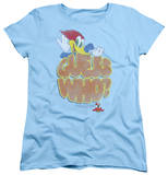 Womens: Woody Woodpecker - Guess Who T-shirts