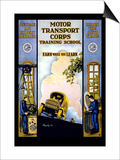 Motor Transport Corps Posters by E.r. Euler