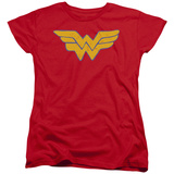 Womens: Wonder Woman - Rough Wonder Shirt