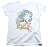 Womens: Wonder Woman - Wonder Scroll Shirt