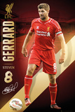 Liverpool Gerrard 14/15 Poster