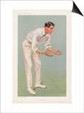 Ken Hutchings English Cricketer Prints by  Spy (Leslie M. Ward)