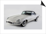 1962 Jaguar E type Print by S. Clay