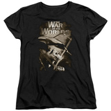 Womens: War Of The Worlds - Death Rays T-shirts