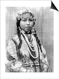 Wishram Bride, c1910 Posters by Edward S. Curtis