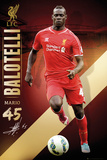 Liverpool Ballotelli 14/15 Posters