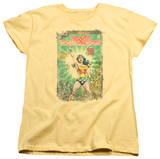 Womens: Wonder Woman - Besieged Cover Shirt