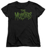 Womens: The Munsters - Distress Logo T-Shirt
