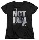 Womens: The Thing - Not Human Yet T-shirts