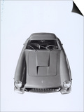 Frontal View of a Ferrari Automobile Print by A. Villani