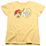 Womens: Woody Woodpecker - Famous Laugh Shirts