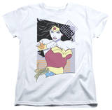 Womens: Wonder Woman - Wonder Woman 80s Minimal T-shirts