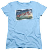Womens: Under The Dome - Postcard T-Shirt