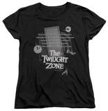 Womens: The Twilight Zone - Monologue T-shirts