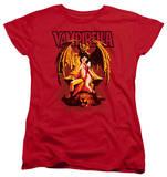 Womens: Vampirella - Bat Throne T-Shirt