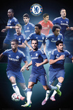 Chelsea Collage 14/15 Foto