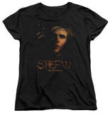 Womens: The Vampire Diaries - Stefan Smokey Veil T-shirts