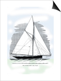 Cutter Surf Prints by Charles P. Kunhardt