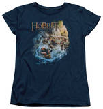 Womens: The Hobbit: The Desolation of Smaug - Barreling Down T-Shirt