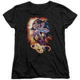 Womens: Wonder Woman - Wonder Rays Shirt
