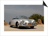 1958 Porsche Speedster 356 1600 Super Prints by S. Clay
