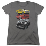 Womens: The Fast And The Furious - Muscle Car Splatter T-Shirt