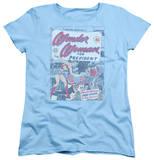 Womens: Wonder Woman - Wonder Woman For President Shirt