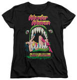 Womens: Wonder Woman - Jaws Shirt