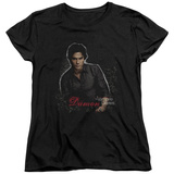 Womens: The Vampire Diaries - Damon T-Shirt