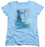 Womens: Wildlife - Leaping Sailfish T-shirts