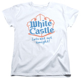 Womens: White Castle - Lets Eat T-shirts