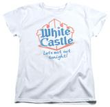Womens: White Castle - Lets Eat Shirts